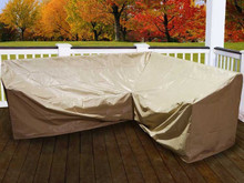 Forever Patio Hampton 6 Piece Left Facing Sectional Cover by NorthCape International