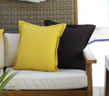Hospitality Rattan Outdoor Throw Pillow Pair