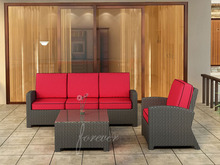 Forever Patio Barbados Resin Wicker Sofa Set - 3 Piece by NorthCape International