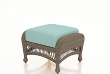 Forever Patio Catalina Wicker Ottoman by NorthCape International