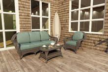Forever Patio 3 Piece Catalina Wicker Sofa Set by NorthCape International