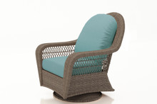 Forever Patio Catalina Wicker High Back Swivel Glider Lounge Chair by NorthCape International