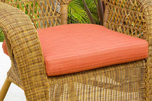 NorthCape International Wicker Deep Seating Rocker & Dining Chair Replacement Cushion