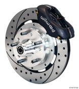 "12"" Wilwood Front Brake Kit for S-10 Spindles w/ Drilled Rotors 140-12297-D"