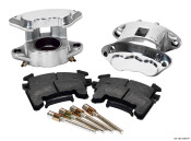 Wilwood GM Metric D154 Polished Front Brake Caliper Kit 140-12097-P