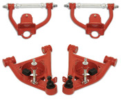 S-10 / S-15 Tubular Upper & Lower Control Arms for 2WD Stock or Aftermarket Drop Spindles