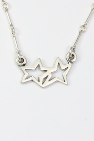 "Sterling Silver Wish Upon a Star Necklace. Available from 13""- 16"" length. Because I wish upon a star I pray to the stars creator."