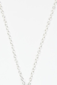 "18""Sterling Silver Cable Chain"