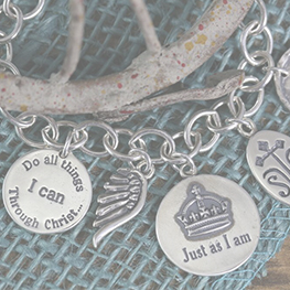Sterling Grace Charms