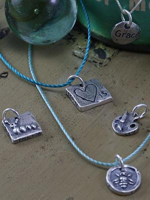 Sterling Silver Children Charm
