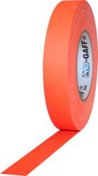 "ProTapes Pro Gaffer Tape (1"" x 55 yd, Fluorescent Orange)"