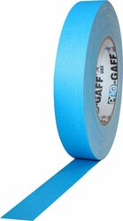 "ProTapes Pro Gaffer Tape (1"" x 55 yd, Fluorescent Blue)"