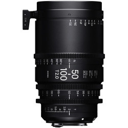 Sigma 50-100mm T2 Cine High-Speed Zoom Lens (PL)
