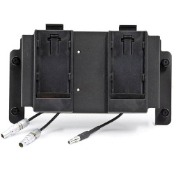 Convergent Design Sony L Teradek Battery Plate Kit for Two First Generation Teradek Bolt Receivers