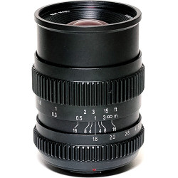 SLR Magic Cine 17mm T1.6 Lens with MFT Mount for BMPCC