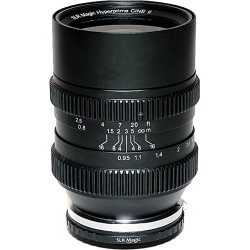 SLR Magic Cine 35mm T0.95 Mark II Lens with MFT Mount