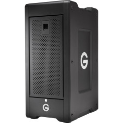 G-Technology G-SPEED Shuttle XL 18TB 8-Bay Thunderbolt 2 RAID Array with Two ev Bay Adapters (6 x 3TB)