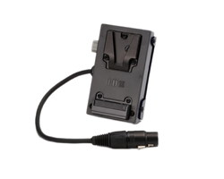 IDX System Technology C-EBXLR Endura Individual Power System - One V-Mount Adapter Plate with 4-pin XLR Connector