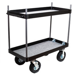 Backstage Aluminum Camera Case Cart with Wheels