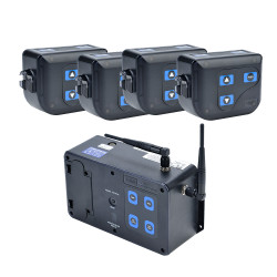 HME DX100 Wireless Intercom System (4 User/No Headsets)