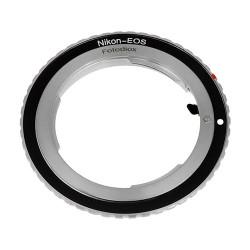Fotodiox Lens Mount Adapter Nikon F Lens to Canon EOS EF-Mount Camera