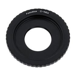 Fotodiox Lens Mount Adapter C-Mount Lens to Sony NEX E-Mount Camera