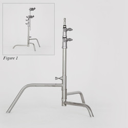20″ Century Stand 2-Rise Non-Spring Load (NSL)
