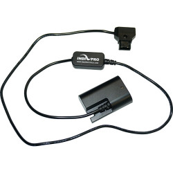 IndiPRO Tools D-Tap to LP-E6 Dummy Battery Cable for SmallHD Monitors