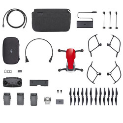 MAVIC AIR Fly More Combo (Flame Red)