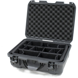 Nanuk 930-2007 Case with Padded Divider (Graphite)