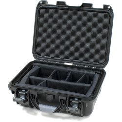 Nanuk 915-2001 Case with Padded Divider (Black)