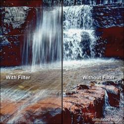"""Tiffen 4 x 5.65"""" ND 1.2 Filter"""
