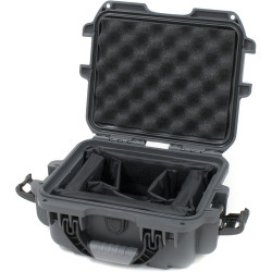 Nanuk Protective 905 Case with Padded Dividers (Graphite)