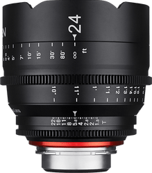 Xeen by Rokinon 24mm T1.5 for Sony E