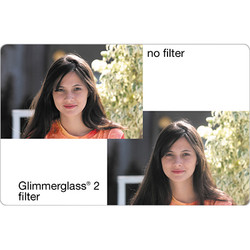 "Tiffen 4 x 5.65"" Glimmerglass 1 Filter"