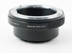 Simple Cine Nikon-MFT Lens Adaptor