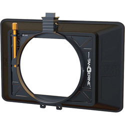 "Bright Tangerine Misfit Atom 4 x 5.65"" / 4 x 4"" Ultra Lightweight 2-Stage Matte Box"