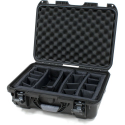 Nanuk 925-2001 Case with Padded Divider (Black)