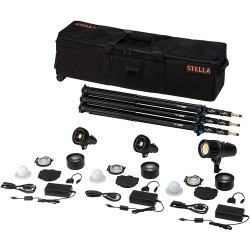 Light & Motion Stella Pro 225 5000 SP/ 2000 3-Light Kit with Accessories
