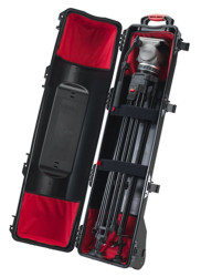 HPRC 6400TRIB Wheeled Hard Case for Tripods with Soft Interiors Kit (Black)