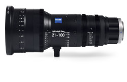Zeiss 21-100mm T2.9-3.9 Lightweight Zoom LWZ.3 Lens (PL Mount, Feet)
