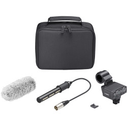 SONY ALPHA XLR ADPT KIT W/ MIC