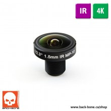 Back-Bone 1.5MM 180° 10MP IR FISHEYE