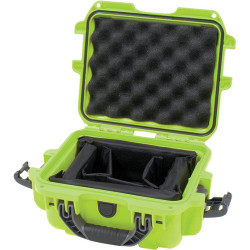 Nanuk Protective 905 Case with Padded Dividers (Lime)