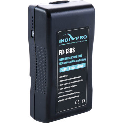 IndiPRO Tools Compact 130Wh V-Mount Li-Ion Battery