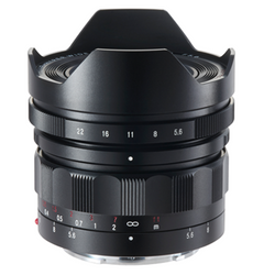 Voigtlander Heliar 10mm f5.6 lens for Sony E Mount
