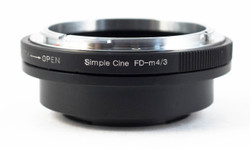 Simple Cine FD-M4/3 Adaptor