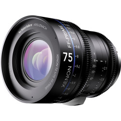 Schneider Xenon FF 75mm T2.1 Lens with Canon EF Mount (Feet)