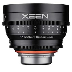 Rokinon XEEN 20mm T1.9 Professional Cine Lens for Micro 4/3 Mount