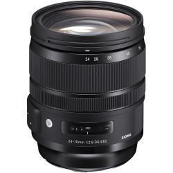 Sigma 24-70mm f/2.8 DG OS HSM Art Lens for Canon EF (PRE-ORDER)